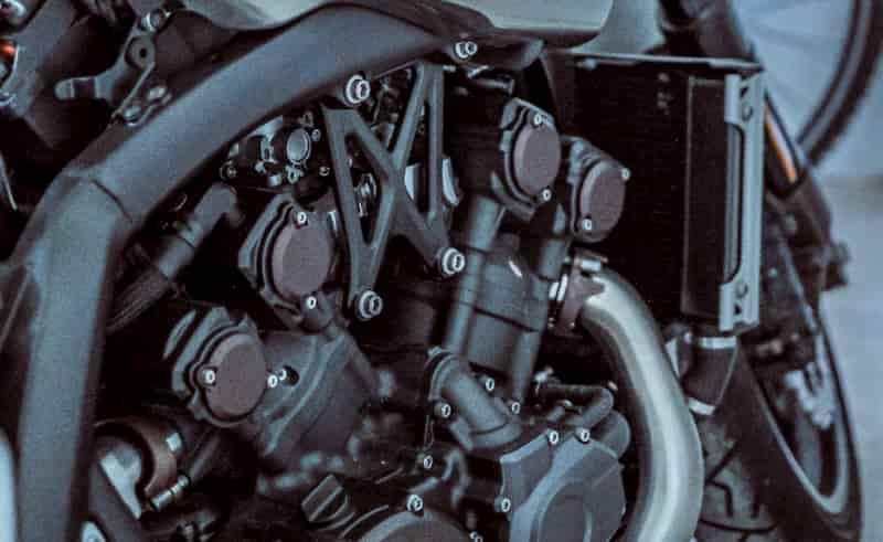 水冷エンジンの特徴エンジンの形状