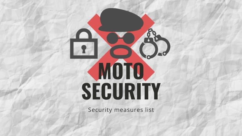 15種類のバイク盗難防止・いたずら防止対策方法それぞれの性能比較