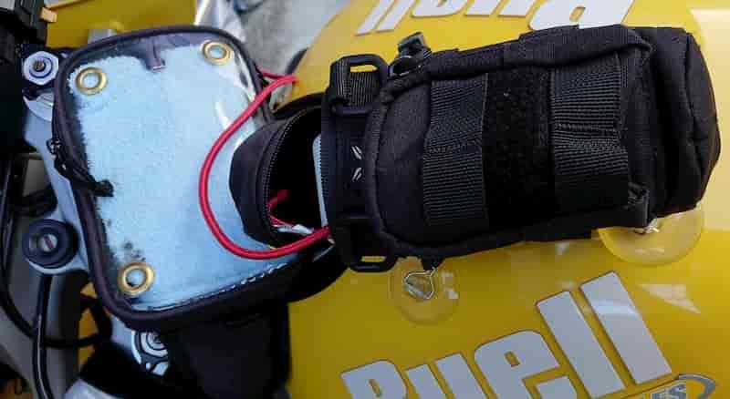 スマホ充電方法【バイクのスマホ冷却方法熱対策】