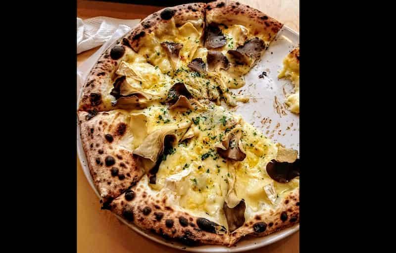 道の駅こすげでピザ