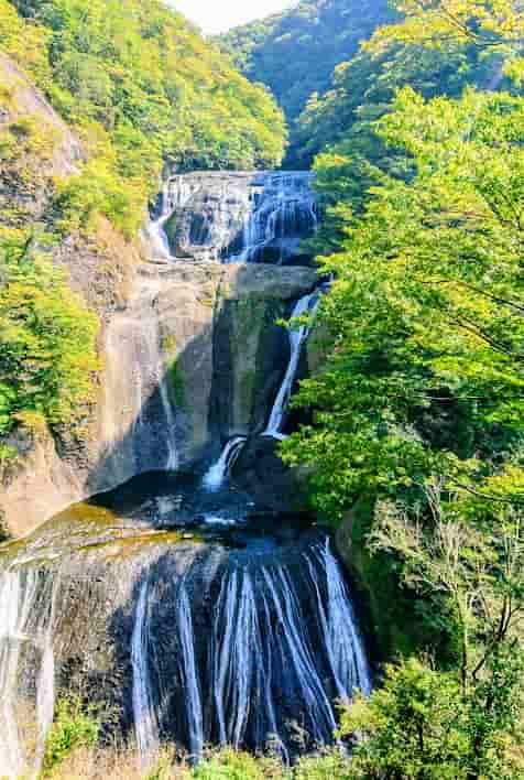 茨城ドライブツーリングでおすすめの袋田の滝