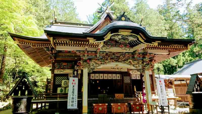 埼玉ドライブツーリングでおすすめの寳登山神社