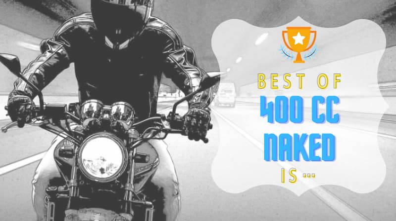 400ccネイキッドバイクおすすめの車種15選!スペック比較と8種のランキング