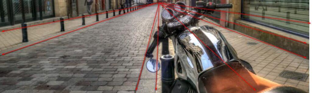 消失点構図【バイク写真撮り方のコツ】
