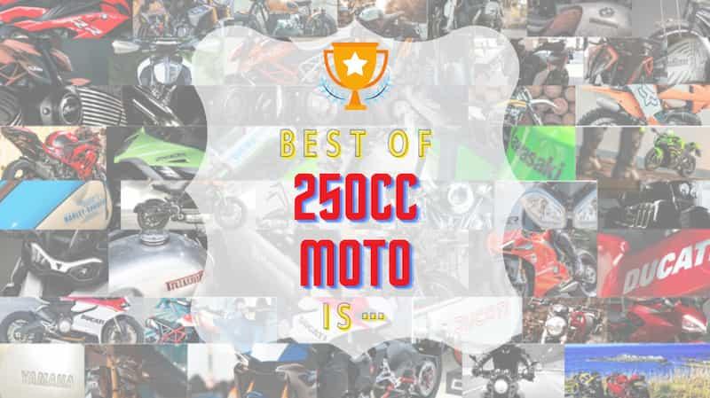 250ccバイクおすすめの車種71選!スペック比較と8種のランキング