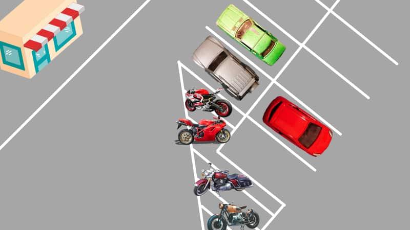 高速道路でバイクを止める場所