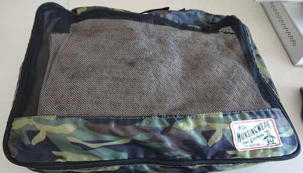 更にタオルを載せて入れ物に入れれば振動と衝撃を防げる
