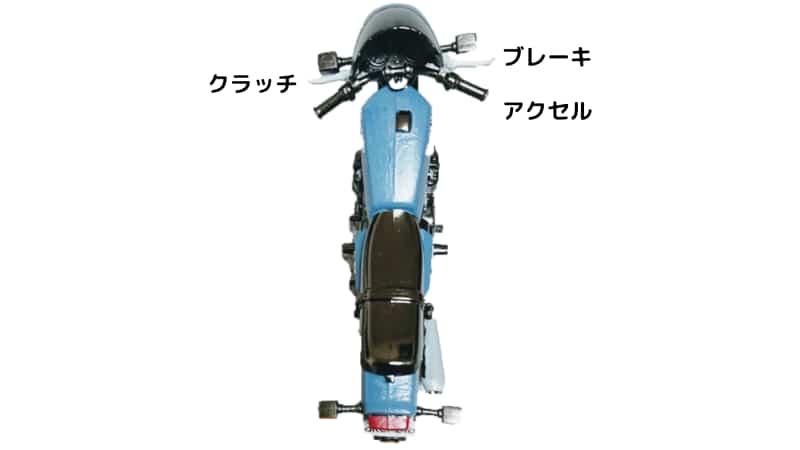 バイクのブリッピング【ブリッピングシフトダウン】