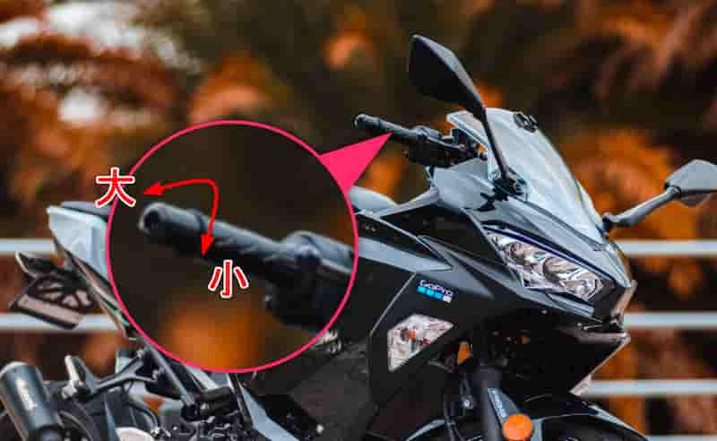 エンジンの力の強弱をコントロールするのは右手のスロットル(アクセル)【バイクの乗り方】