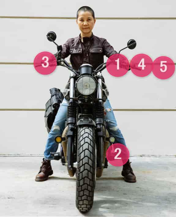 バイクの発進操作方法【バイクの乗り方】