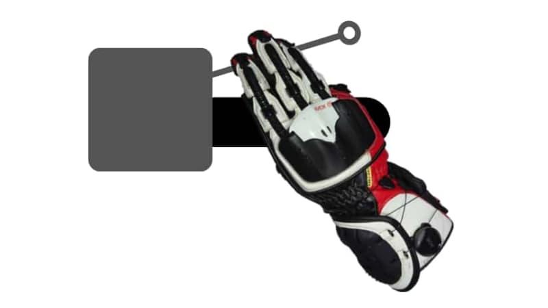 【3本指】人差し指+中指+薬指~バイクブレーキレバーの握り方~