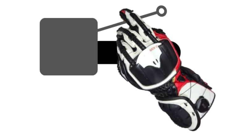 【1本指】薬指~バイクブレーキレバーの握り方~