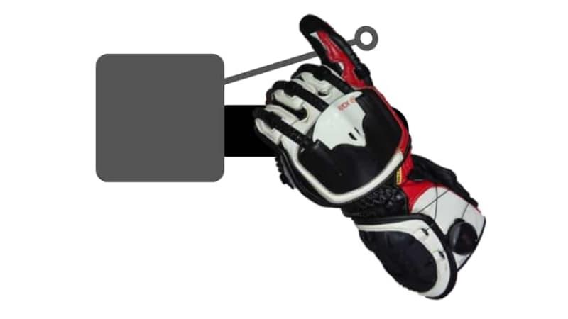 【1本指】小指~バイクブレーキレバーの握り方~
