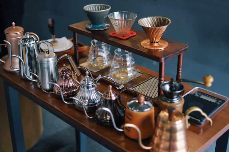 コーヒーの美味しい入れ方に必要な道具